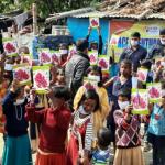 ऑफ फ्यूचर इंडिया द्वारा संचालित निशुल्क शिक्षा केंद्र पर मनाया गया जन्मदिन