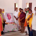 डॉक्टर श्यामा प्रसाद मुखर्जी का श्रद्धांजलि बलिदान दिवस के रुप में मनाया गया